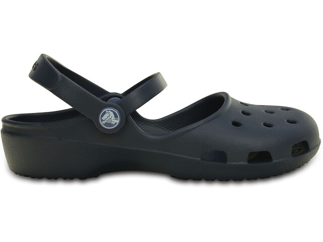 Crocs Crocs Karin Clogsit Naiset, navy